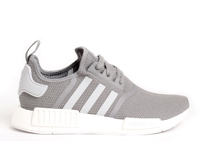 Adidas NMD_R1 Charcoal Solid Grey / Light Solid Grey / Running White