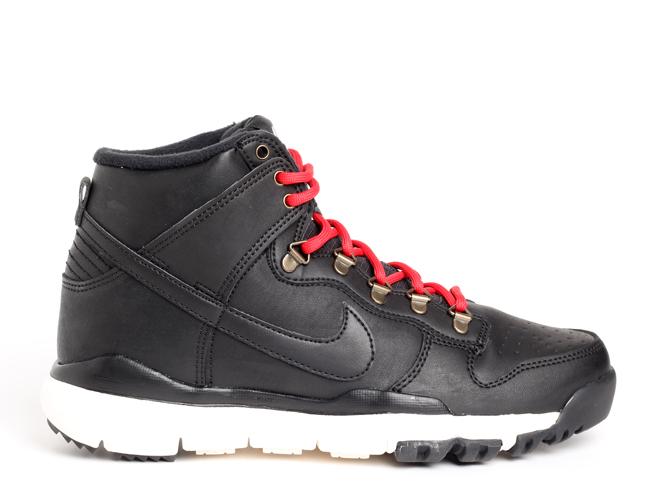 Nike SB Dunk High Boot Black / Black Sail - Ale Brown