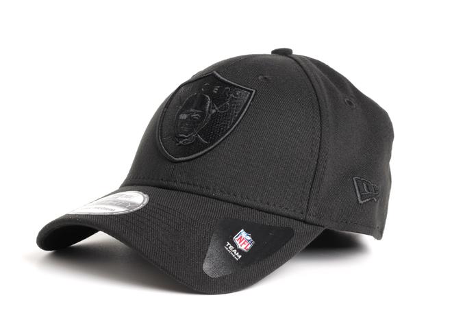 New Era Team Wool Oakland Raiders Black