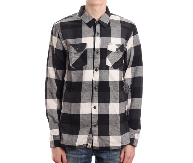 Vans Box Flannel Black / New Charcoal
