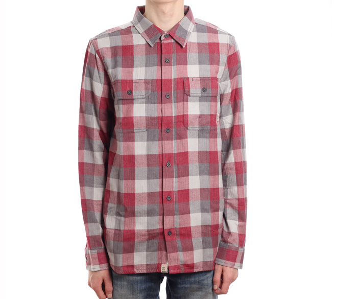 Vans Alameda Shirt Red Dahlia / Gravel