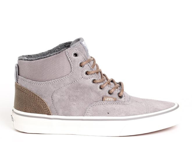 Vans Era-Hi (Pig Suede / Nylon) Frost Gray / Blanc de Blanc