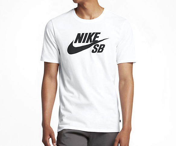Nike SB Logo Tee White / Black