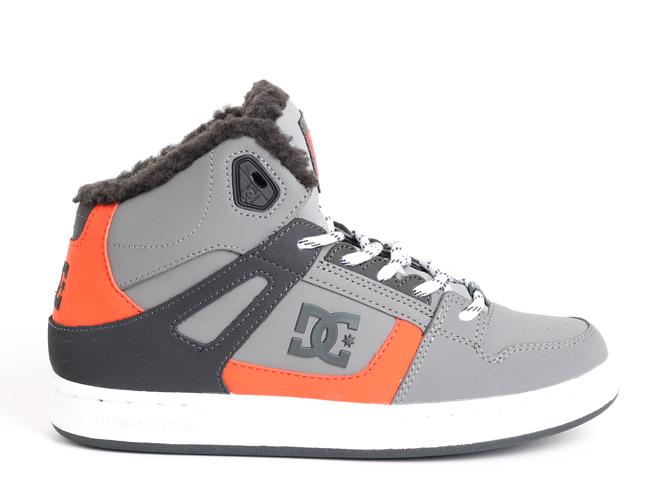 DC Rebound Winter Youth Grey / Black / Orange