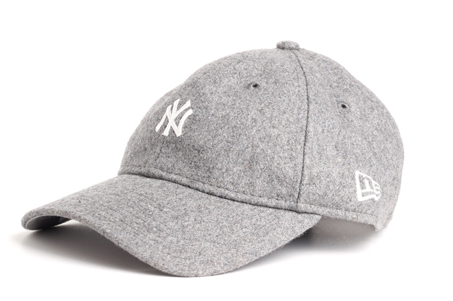 New Era Melton Mini Classic Yankees Gray