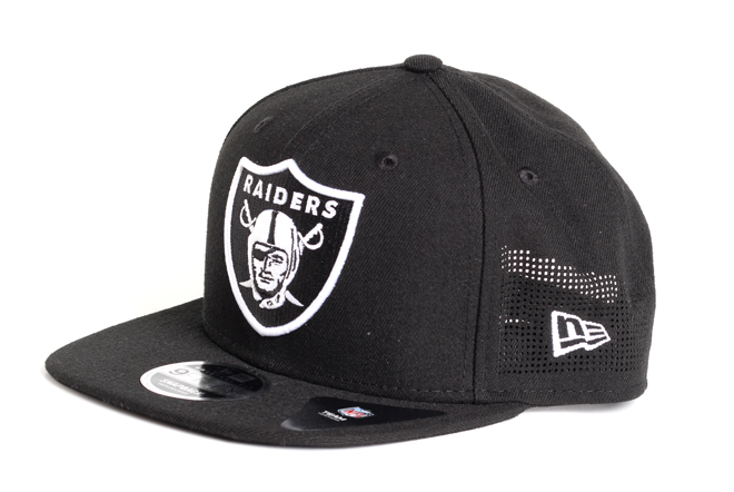 New Era 9Fifty Perforated Oakland Raiders Black