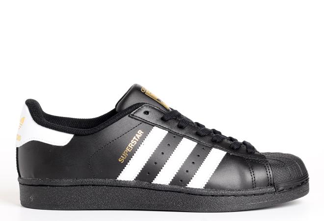 Adidas Superstar Core Black / White