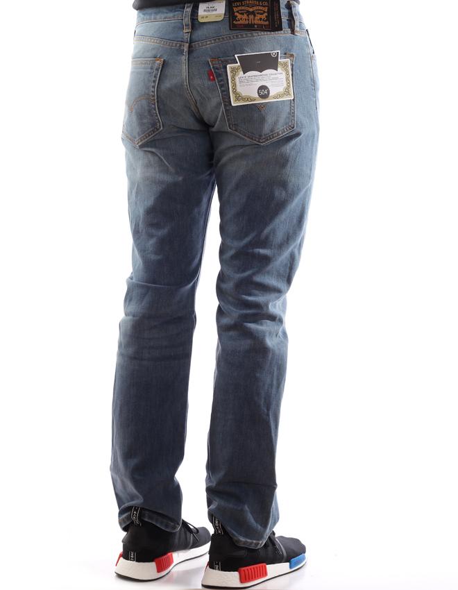 Levi's Skateboarding 504 Regular Straight Fit Jeans