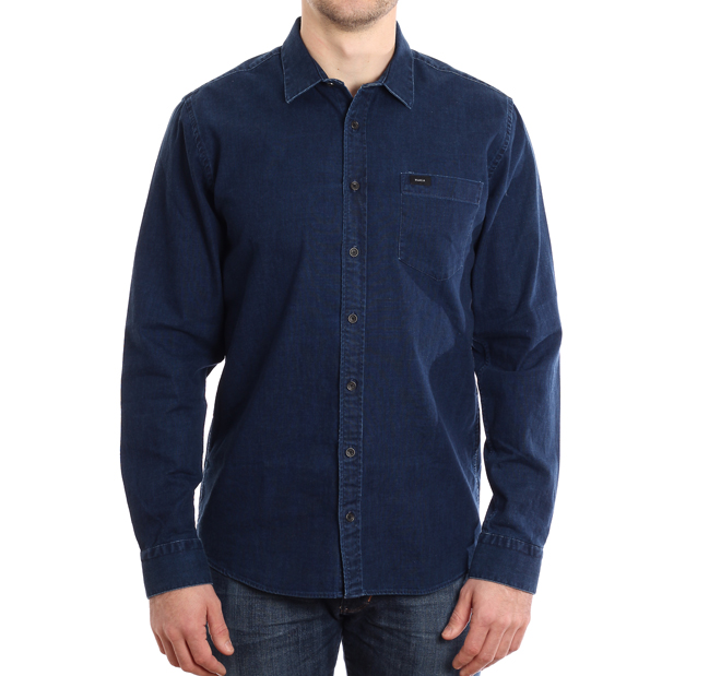 Makia Luoto Shirt Indigo