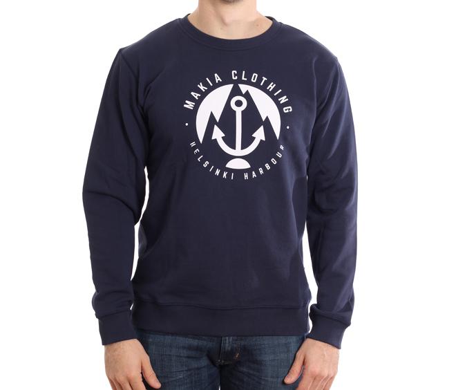 Makia Harbour Sweatshirt Navy
