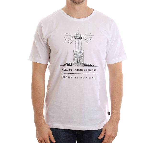 Makia Lighthouse Tee White