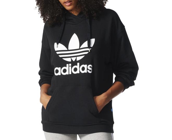 adidas hoodie black womens