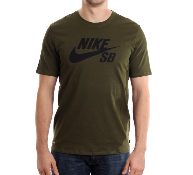Nike SB Logo Tee Legion Green / Black