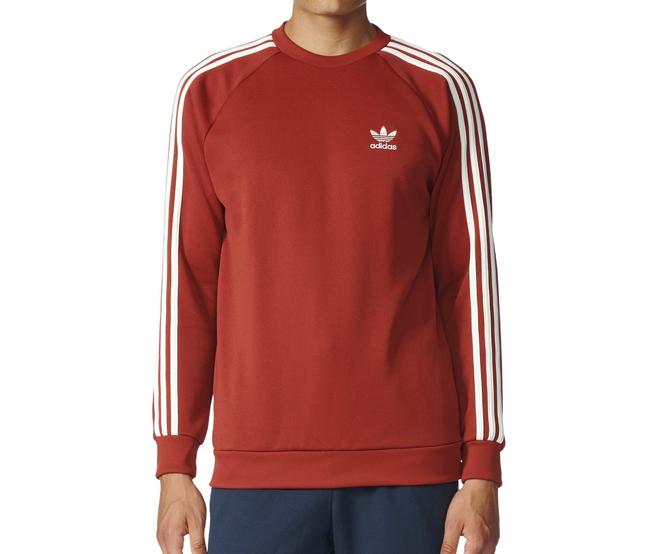 Adidas Superstar Sweatshirt Mystery Red