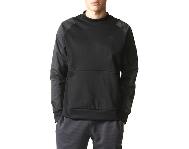 Adidas Shadow Tones Sweatshirt Black