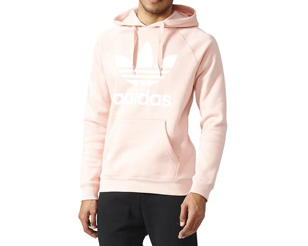 Adidas Originals Trefoil Hoodie Vapour Pink