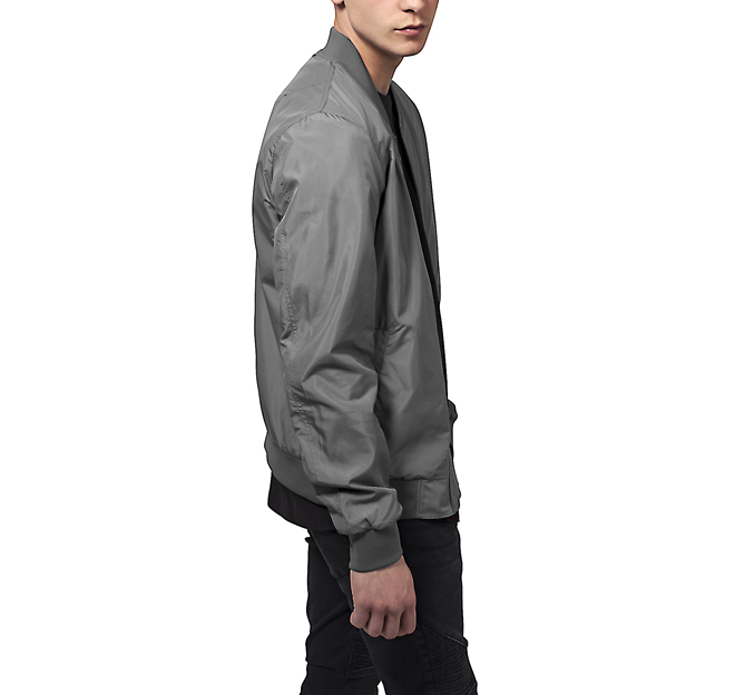 Urban Classics Light Bomber Jacket Dark Grey