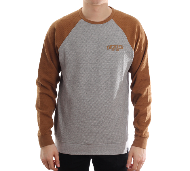 Dickies Hickory Ridge Sweatshirt Brown Duck