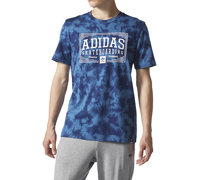 Adidas Crystal Toolkit Graphic Tee Core Blue / White