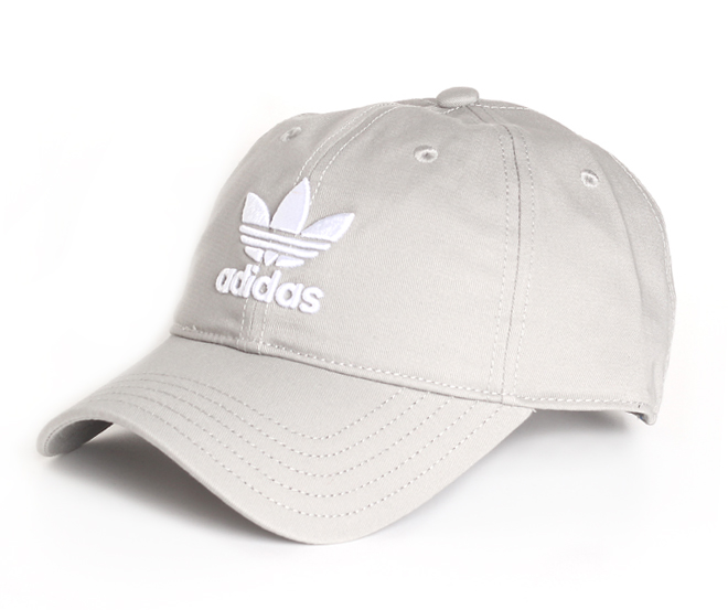 Adidas Trefoil Classic Cap Medium Grey Heather