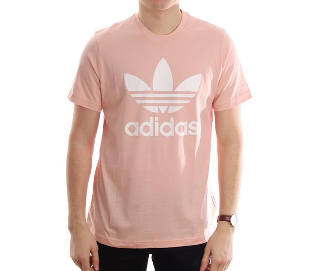 Adidas Originals Trefoil Tee Vapour Pink - Boardvillage 321f07d266ef