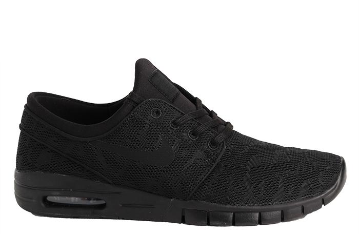 335bfafdeab62b Nike SB Janoski Max Black   Black - Anthracite - Boardvillage