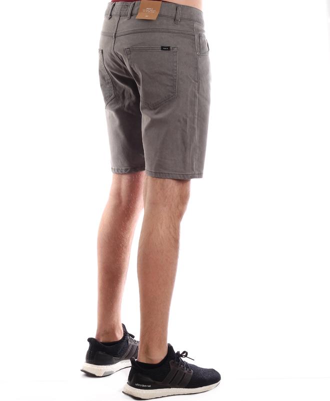 Makia Denim Shorts Grey