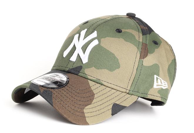New Era 940 New York Yankees Camo / White