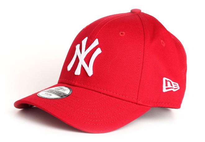 New Era 940 Youth New York Yankees Scarlet