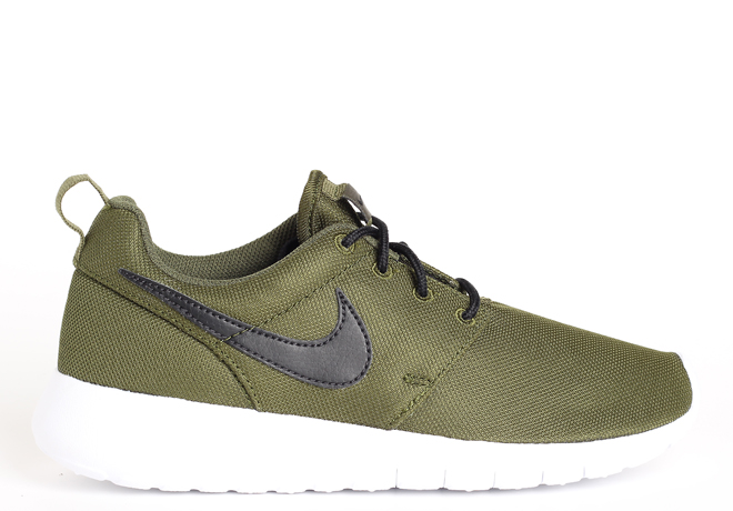 1f6cbd863f9d Nike Roshe One Legion Green   Black - White - Boardvillage