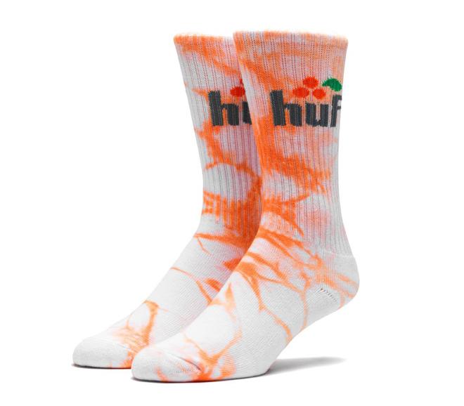 Huf Soda Crew Sock Orange
