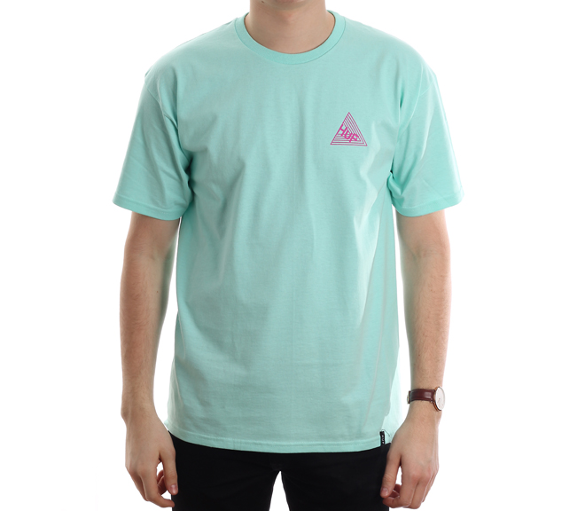 Huf Dimensions Tee Celadon