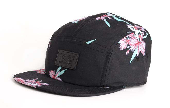 be5aaf953296 ... low cost ca79a a4288 Vans Gwen Camper Cap Black Hawaiian ...