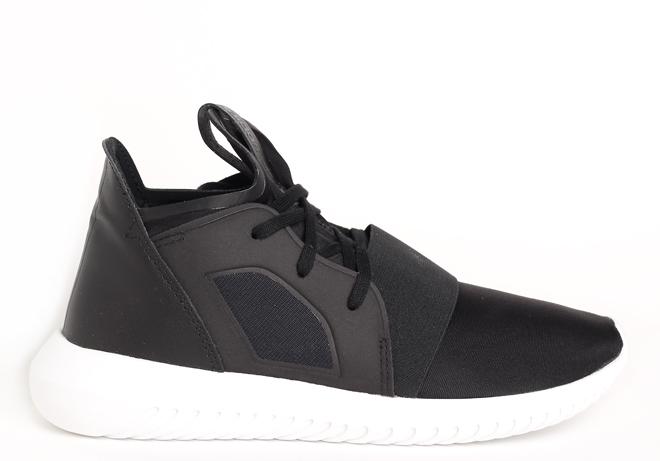 Adidas Womens Tubular Defiant Black / White