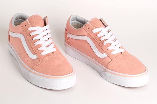 vans old skool peach