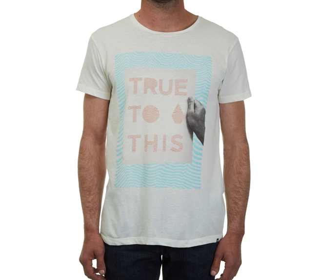 Volcom True To This Lightweight Tee Egg White