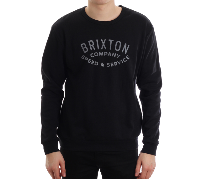 Brixton Gasket Crew Fleece Black