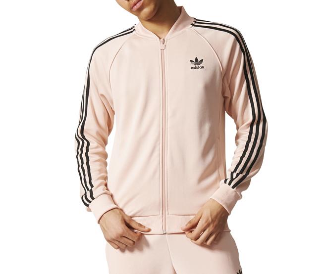 Adidas Superstar Track Jacket Vapour Pink