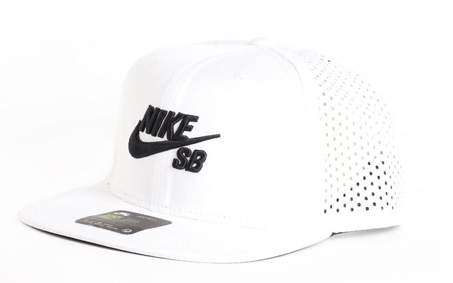 Nike SB Aero Cap Pro Trucker White / Black