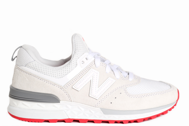 more photos ed3cb 89049 New Balance Womens 574 Sport Off White - Boardvillage