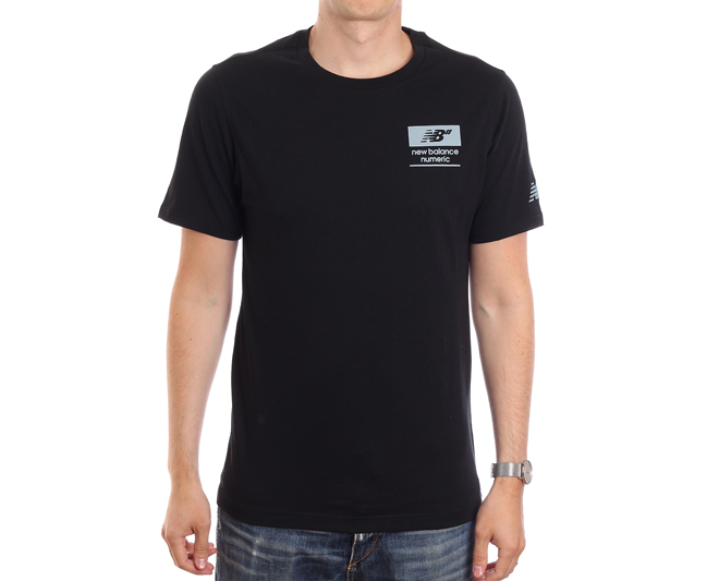 New Balance Numeric Stacked Tee Black