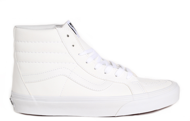 Vans Sk8-Hi Reissue (Classic Tumble) True White - Boardvillage 71ea4c03e