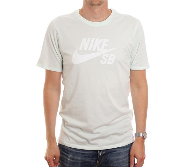 Nike SB Logo Tee Barely Green / White