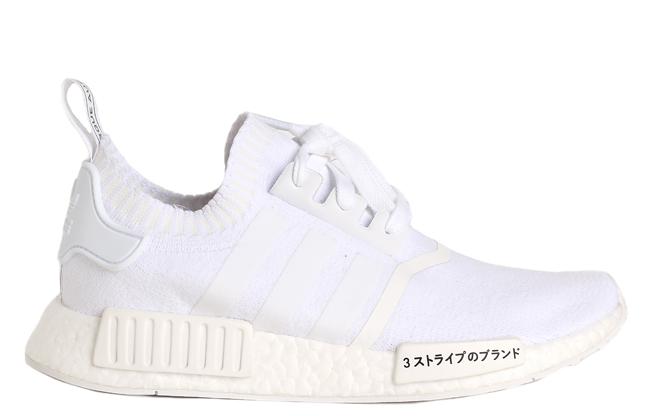 Adidas NMD R1 Primeknit White   White - Boardvillage 8cd852fea