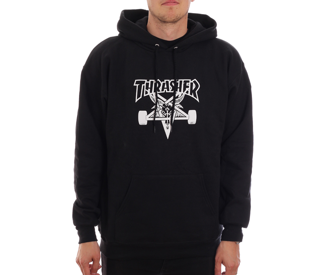 Thrasher Skategoat Hoodie Black