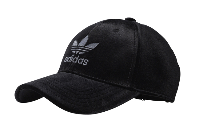 Adidas Velvet Cap Black - Boardvillage 311b1f7f2978