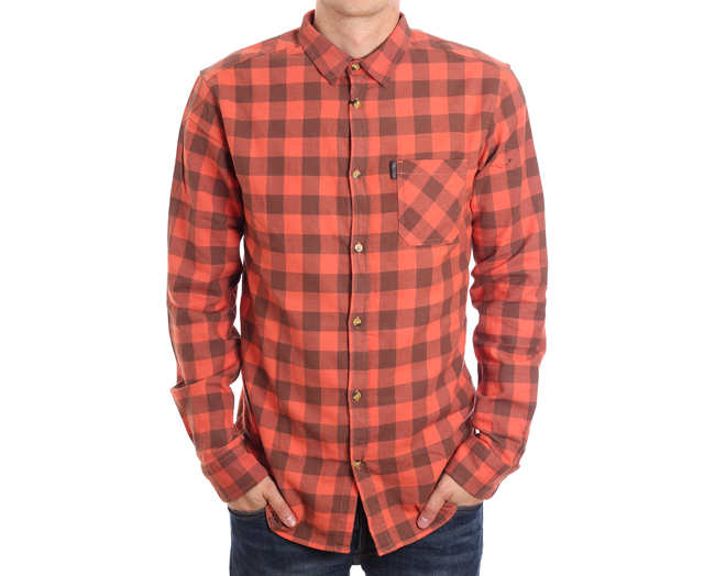 Rip Curl Check Shirt Gingerspice