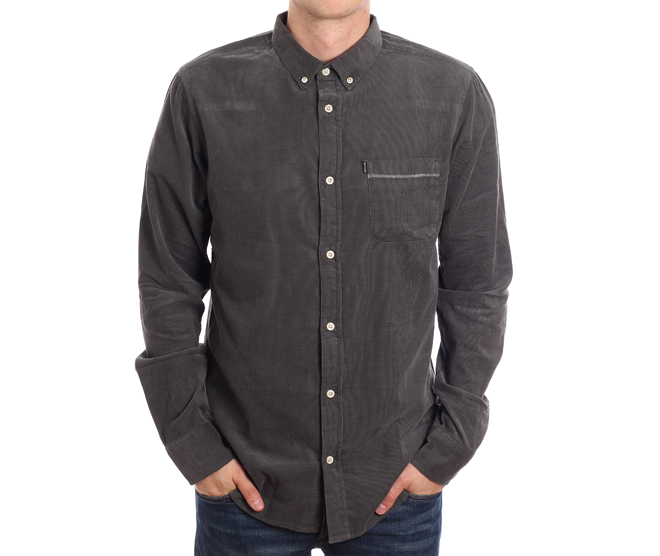 Rip Curl Cord Shirt Black