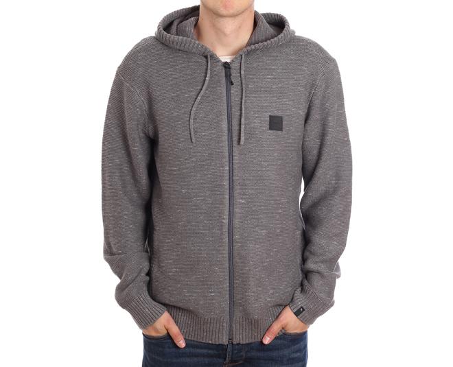 Rip Curl Slubby Sweater Pewter Grey