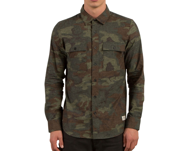 Volcom Woodland L/S Camouflage
